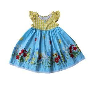 ER Butterfly Garden Kirby Dress Size 5/6